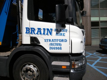 Lorry from Brain Hire
