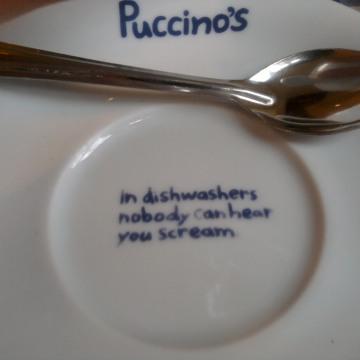 Puccinos tea cup