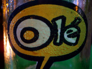 Olé label - Spanish