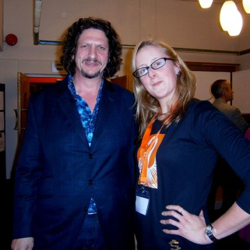 Jay Rayner and Suzanne Worthington